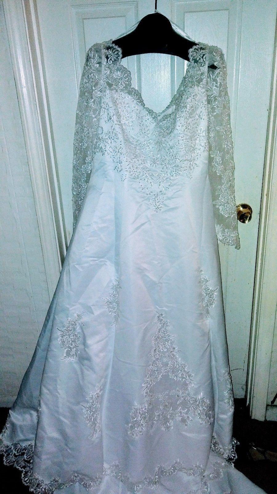 White michaelangelo wedding dress | Wedding dress accessories ...