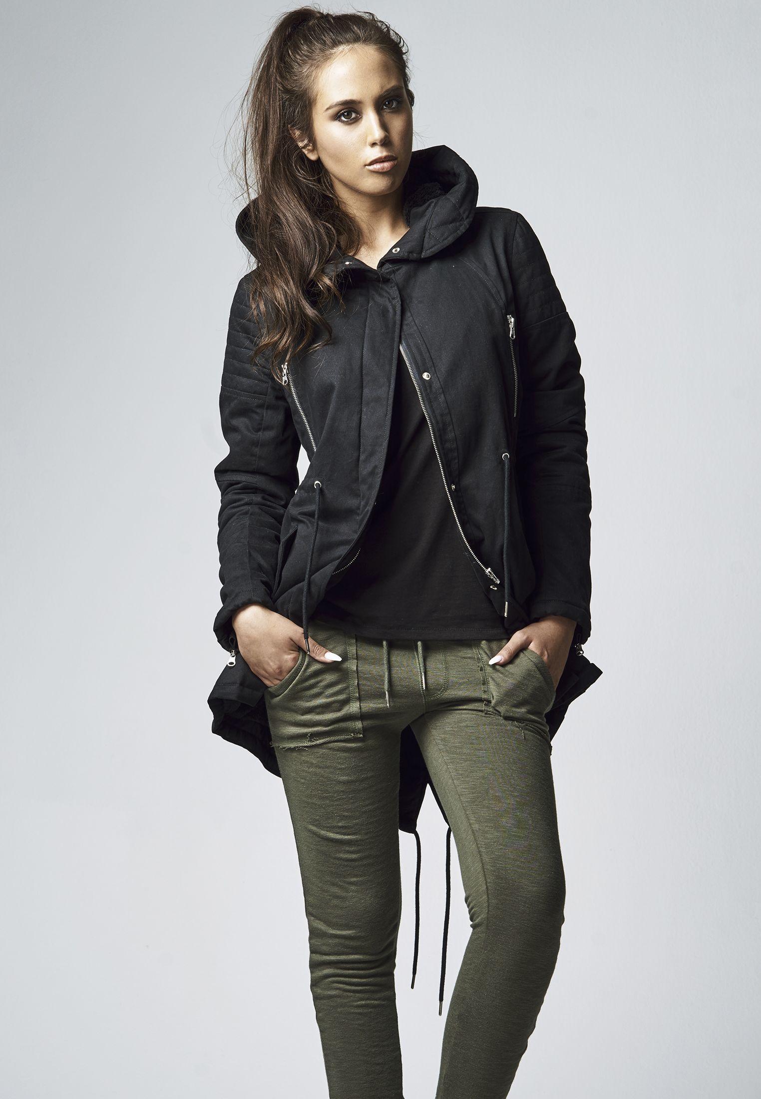 helle n Farbe viel rabatt genießen klassische Stile Kapatcha TB1370 Urban Classics Ladies Sherpa Lined Cotton ...
