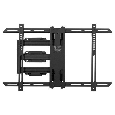 Kanto Full Motion Tv Wall Mount For 37 60 Black Ps350 Full Motion Tv Wall Mount Diy Tv Wall Mount Wall Mounted Tv