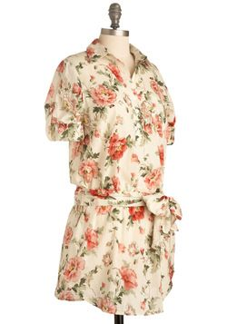 Camellia Cutie Tunic, #ModCloth