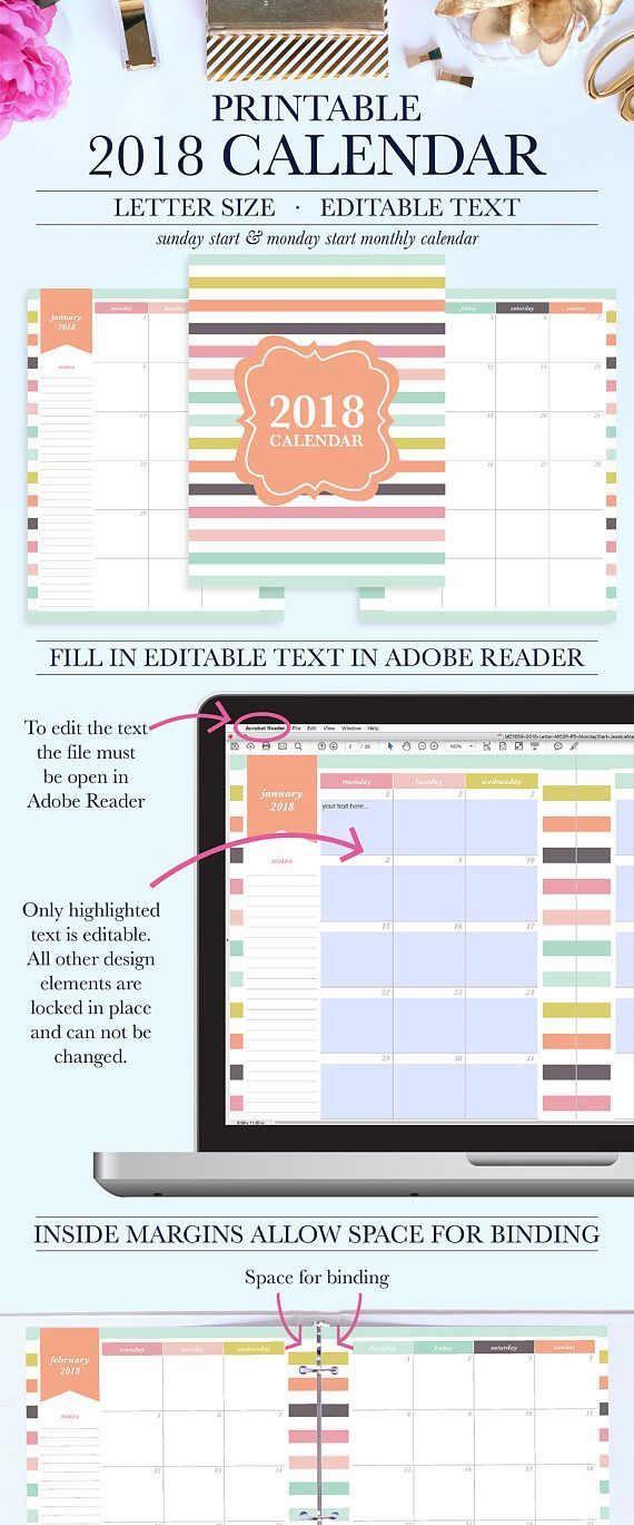 Edible calender printable Stay organized with this fun 2018 - bi weekly monthly budget spreadsheet