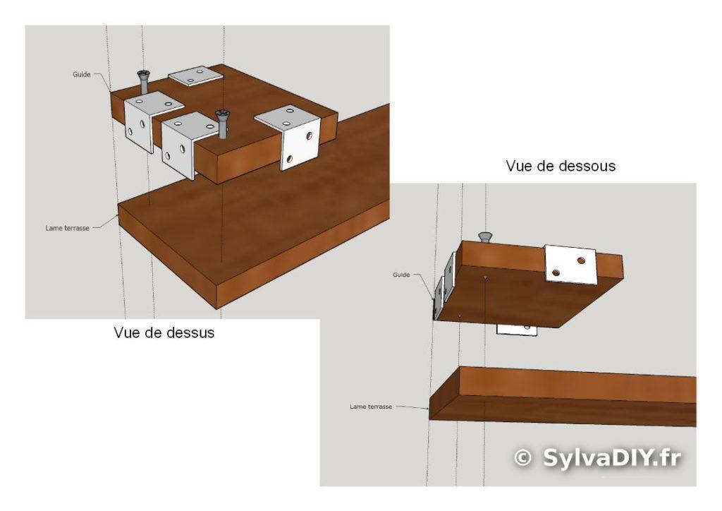 gabarit de per age diy pour pose de terrasse jardin pinterest gabarit de per age gabarit. Black Bedroom Furniture Sets. Home Design Ideas