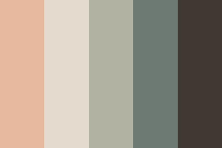 Vintage Sundown Color Palette In 2020 Vintage Color Schemes Vintage Colour Palette Retro Color Palette