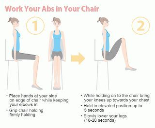 Easy Abs Workout Now That I Have A Desk Job