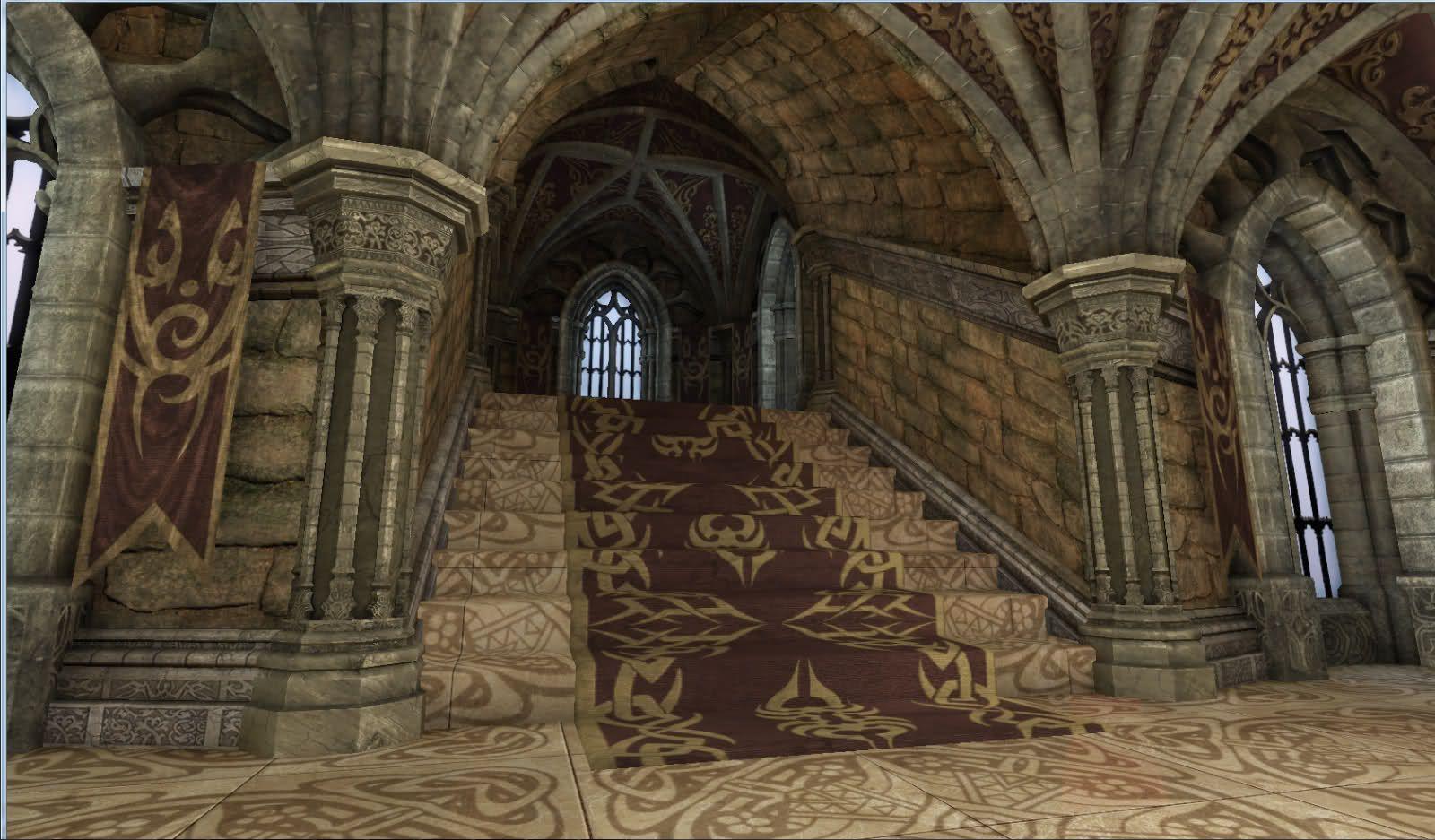 medieval castle interior castle interior udk. Black Bedroom Furniture Sets. Home Design Ideas