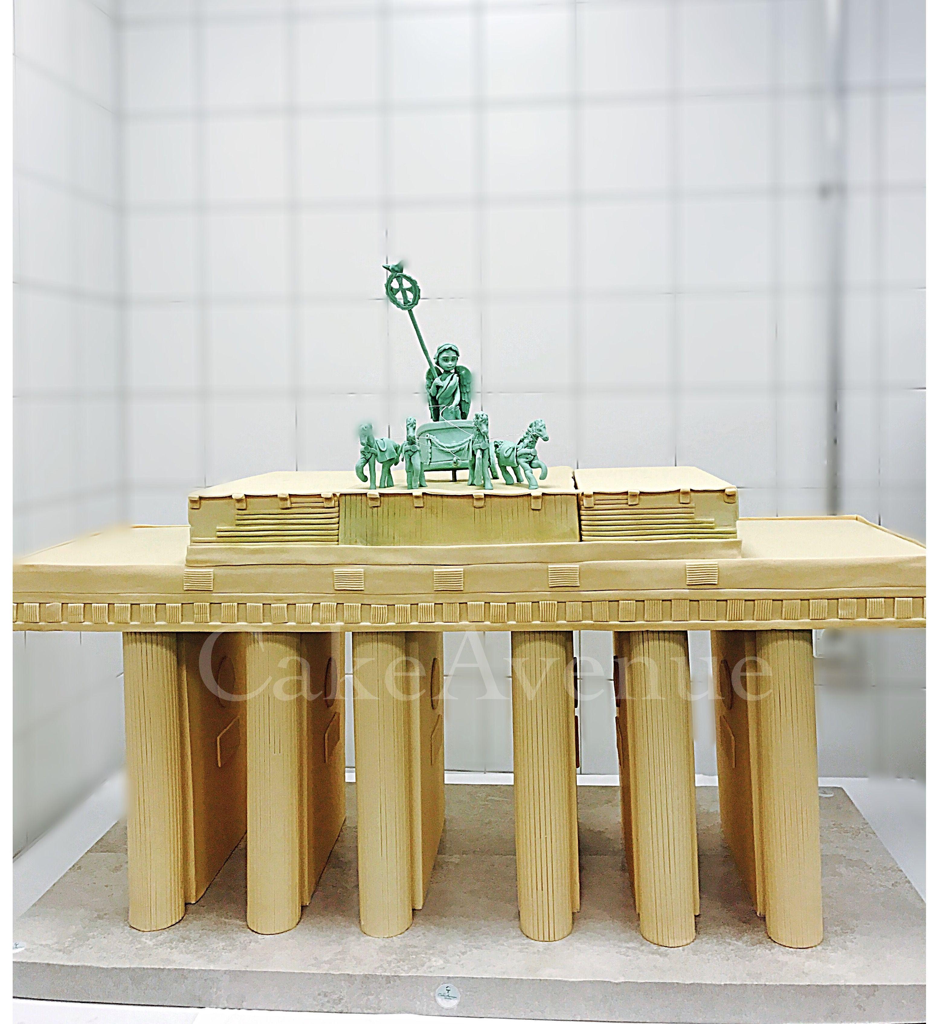 Cake Cakeart Fondant Brandenburger Tor Berlin Brandenburger Tor Berlin Brandenburger Tor Berlin