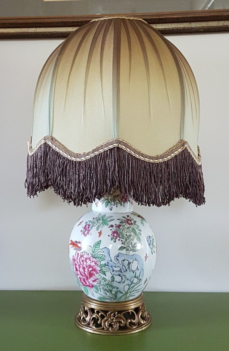 Pin On Antique Victorian Lamp Shades Styles