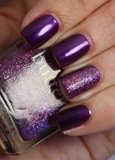 Purple and sparkles Butter London