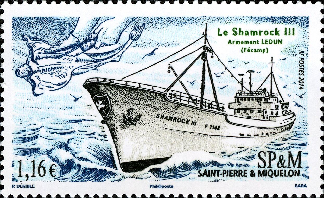 Shamrock III 1957, Francia