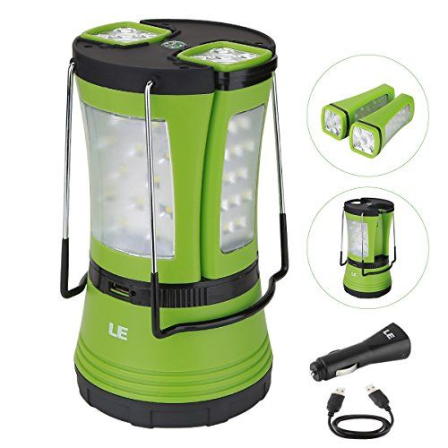 Le 600lm Rechargeable Led Camping Lantern Detachable Port Https Www Amazon Com Dp B01c5o7e2u Ref Cm Sw R Pi Dp U X Cawdbbs2604 Led Camping Lantern
