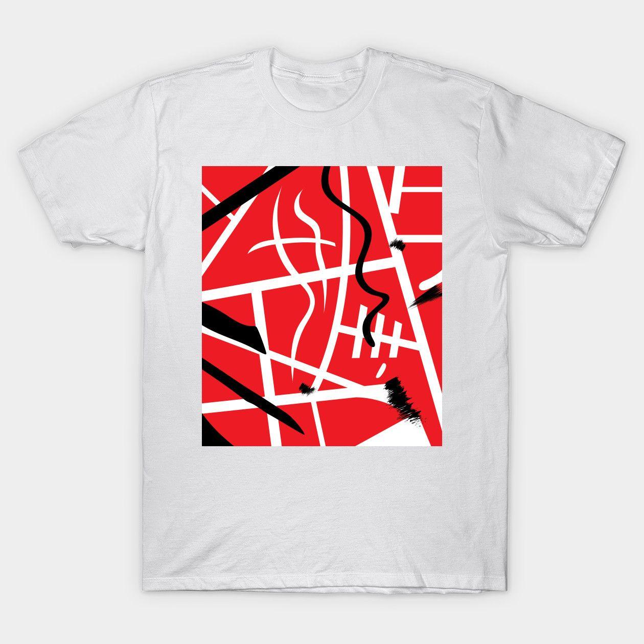 EVH Guitar Stripes vanhalen Classic TShirt T shirt, T