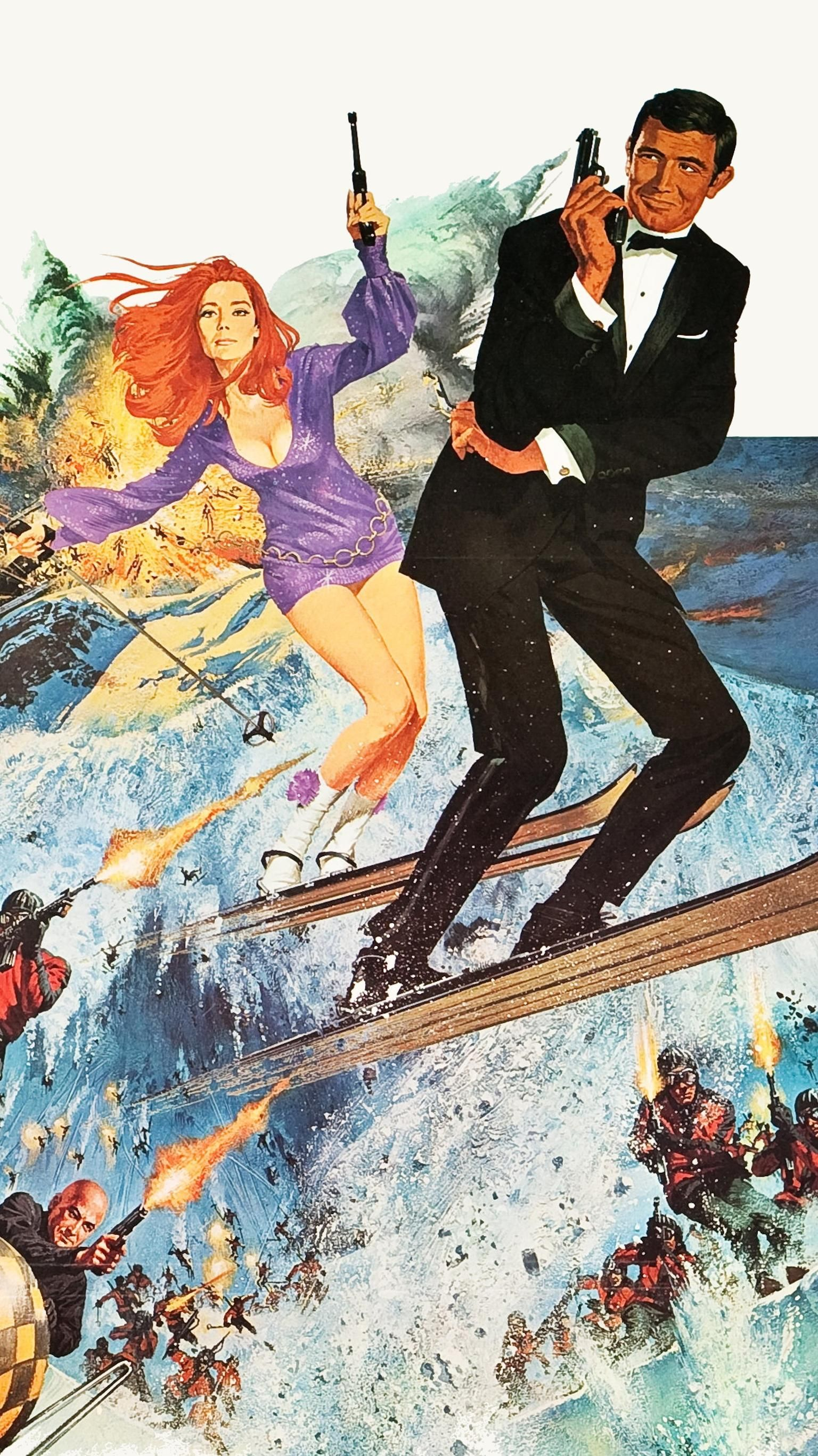 on her majesty's secret service (1969) phone wallpaper | james bond