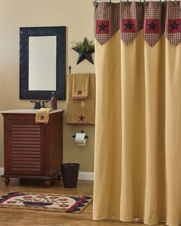 My Country Home Shower Curtain 72\