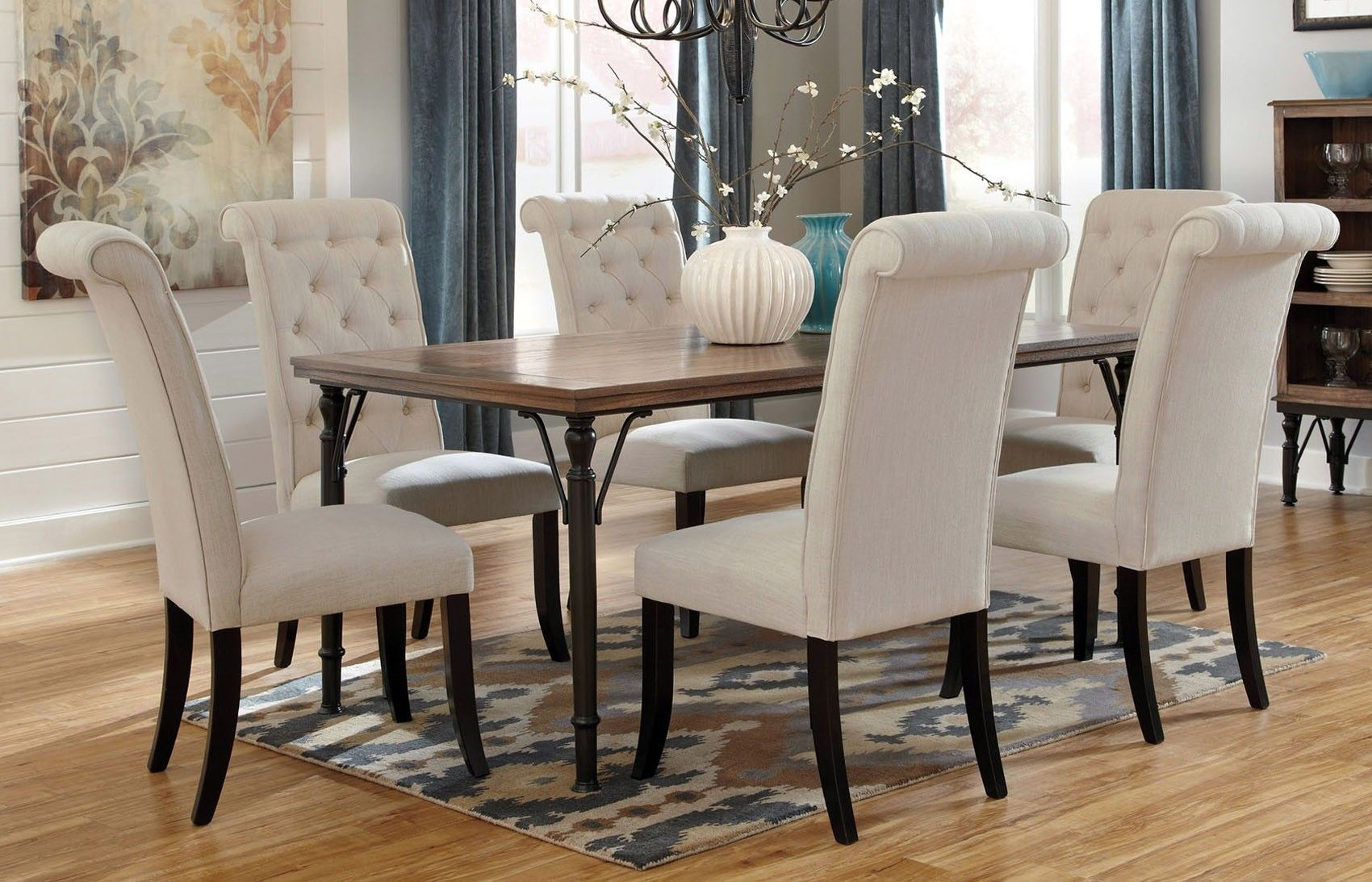 Tripton 5 Pc Dining Table by Ashley Furniture (Rustic Artisan Collection) & Tripton 5 Pc Dining Table by Ashley Furniture (Rustic Artisan ...