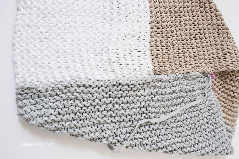 Easy Knit Catalunya Colorblock Poncho | Chal, Ponchos y Tejido