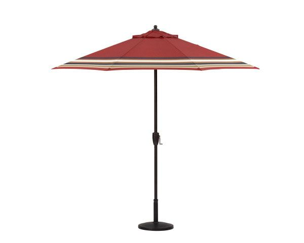 An Outdoor Umbrella Is Essential For Any Outdoor Space Love This One From Lowe S The Wood Is Fsc Ce Outdoor Umbrella Lowes Home Improvements Outdoor Space