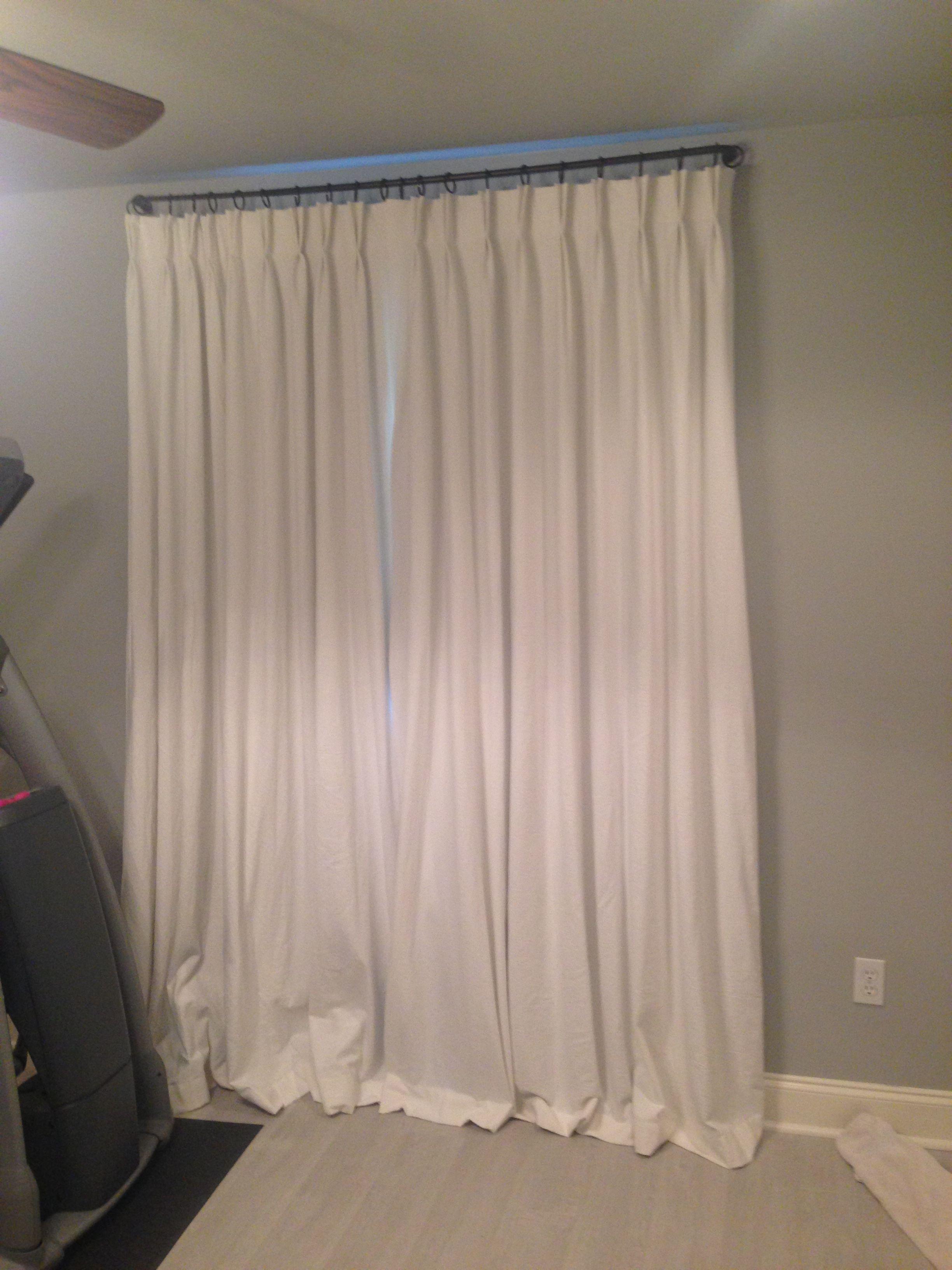 Drop Cloth Blackout Curtains Diy Blackout Curtains Drop Cloth Curtains Curtains