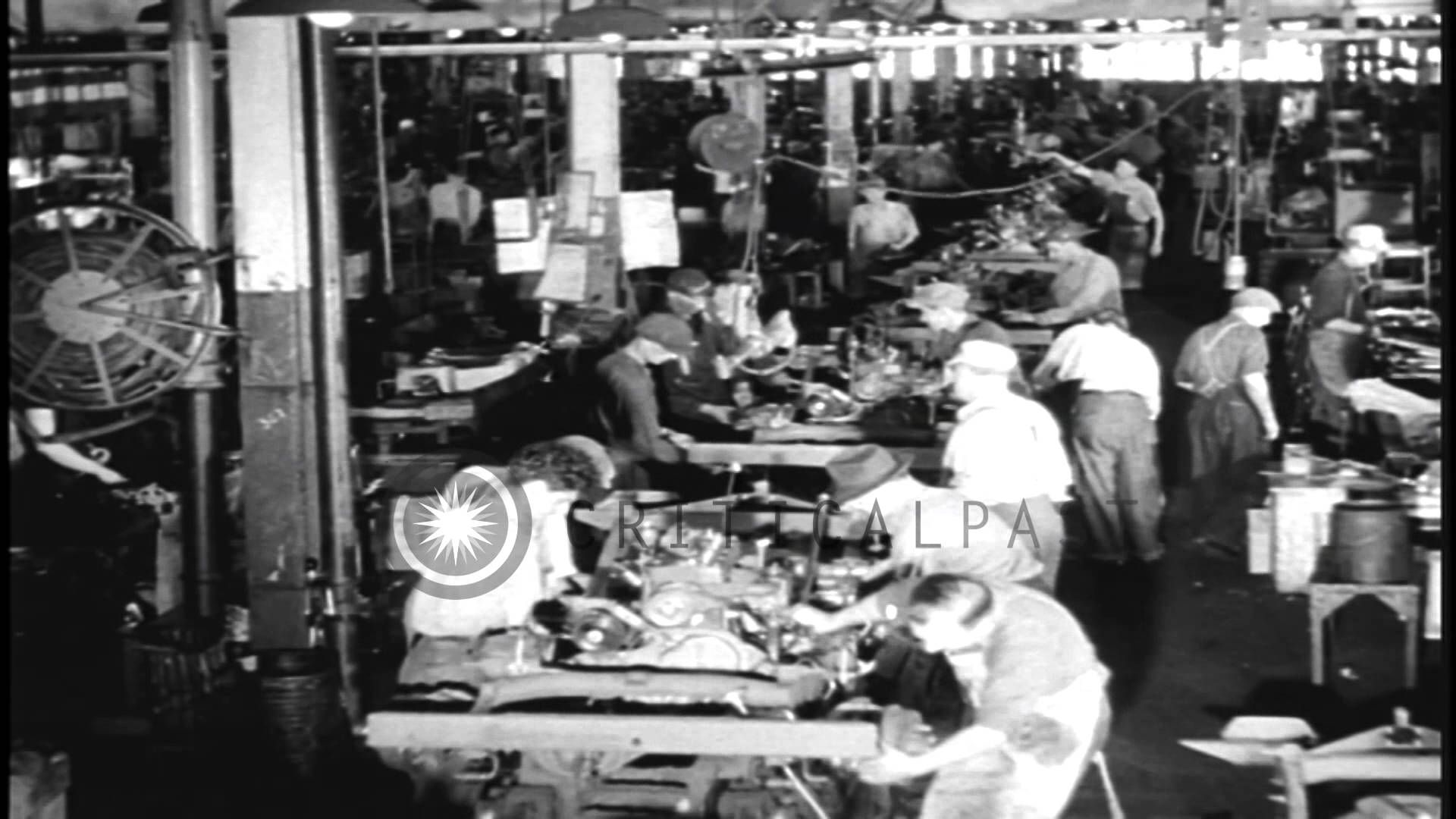 Mass Production Of Jeeps At The Willys Overland Factory In Toledo Ohio Willys Overlanding Toledo