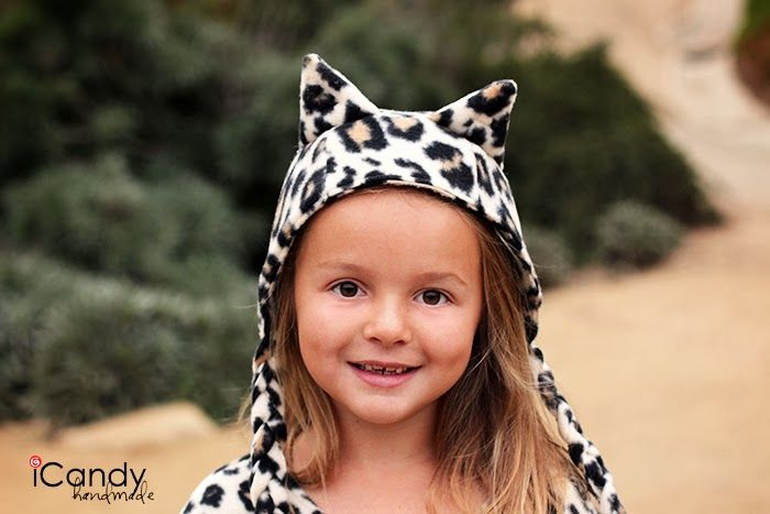 Kitty Cat Hat Tutorial - iCandy handmade - step by step tutorial ...