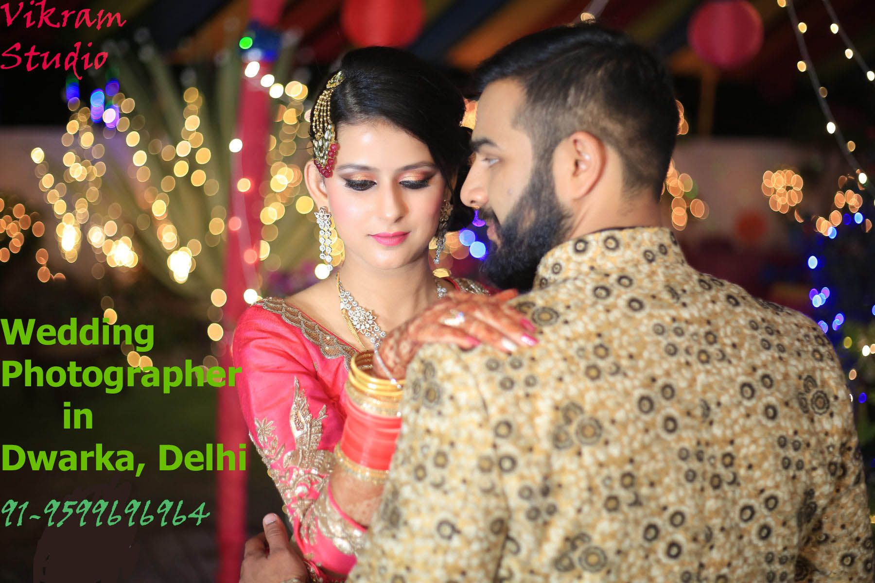 Vikram Studio Is a sterling wedding photographer in