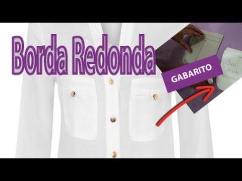 Bolso De Borda Redonda - Como fazer? - YouTube