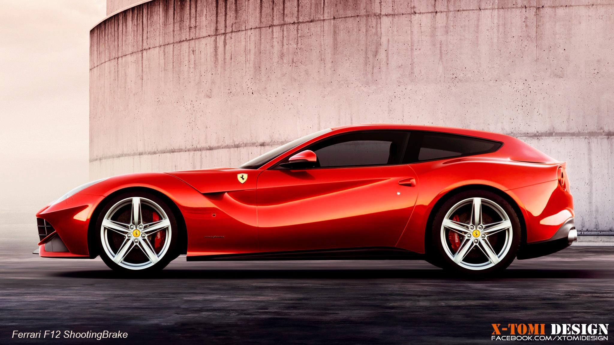 Ferrari F12 Shooting Brake With Images Ferrari F12berlinetta