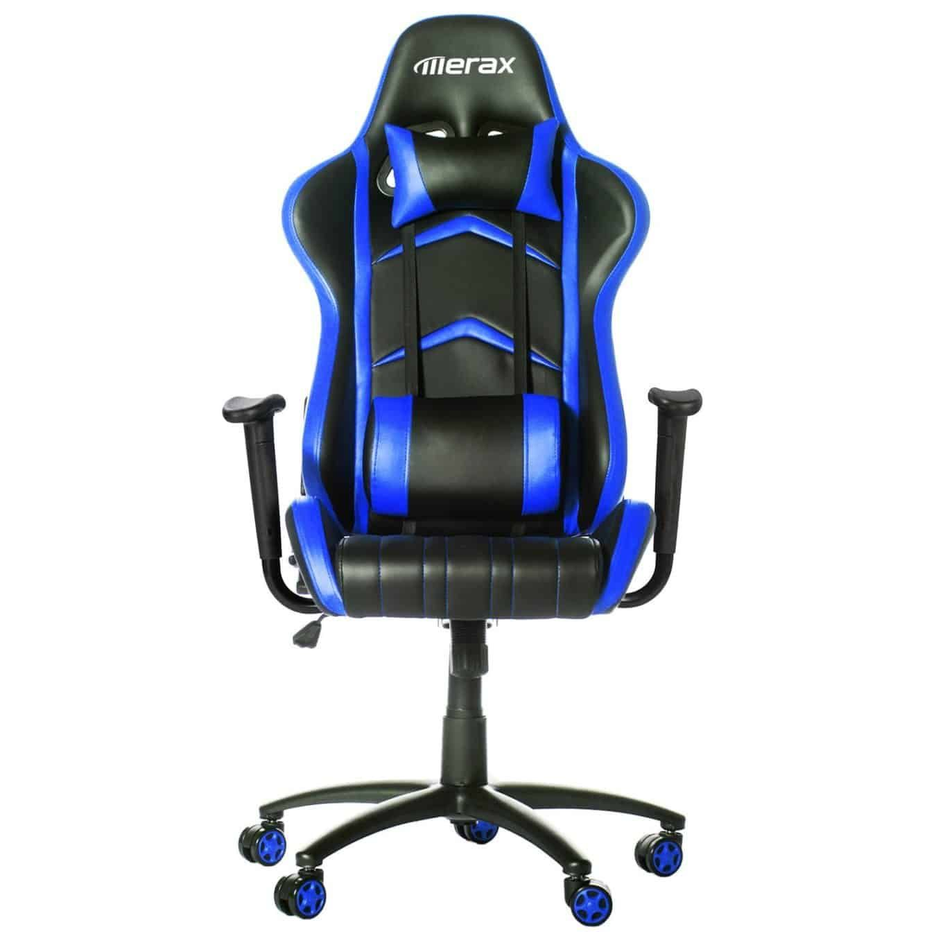 Lexington furniture chair fabric gold additionally ikea swivel chairs - Merax Racing Style Pu Leather Office Chair 180 Degree Back Adjustment Swivel Computer Gaming Chair Executive