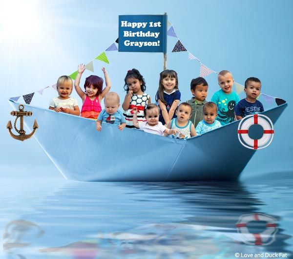 Birthday Party Yacht: Nautical Birthday Party Pictures + Party Ideas!