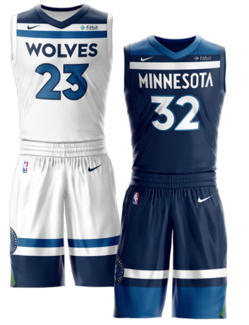 Minnesota Timberwolves Make Bold Move With New Uniforms Chris Creamer S Sportslogos Net News An Basketball Uniforms Design Jersey Design Sports Jersey Design