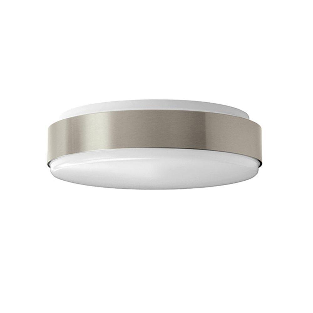 in watt equivalent brushed nickel bright white round