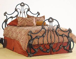 Vivian Iron Bed By Elliott S Designs Simple Bedroom Iron Bed Wrought Iron Beds