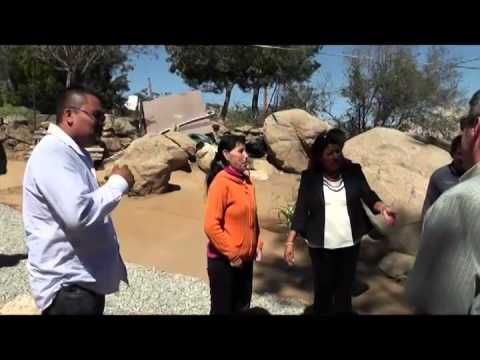 Entrega Nereida Fuentes pies de casa a familias Tecatenses