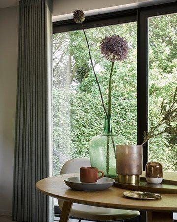 Make over woonkamer Nieuwe raamdecoratie #gordijnen #wooninspiratie ...