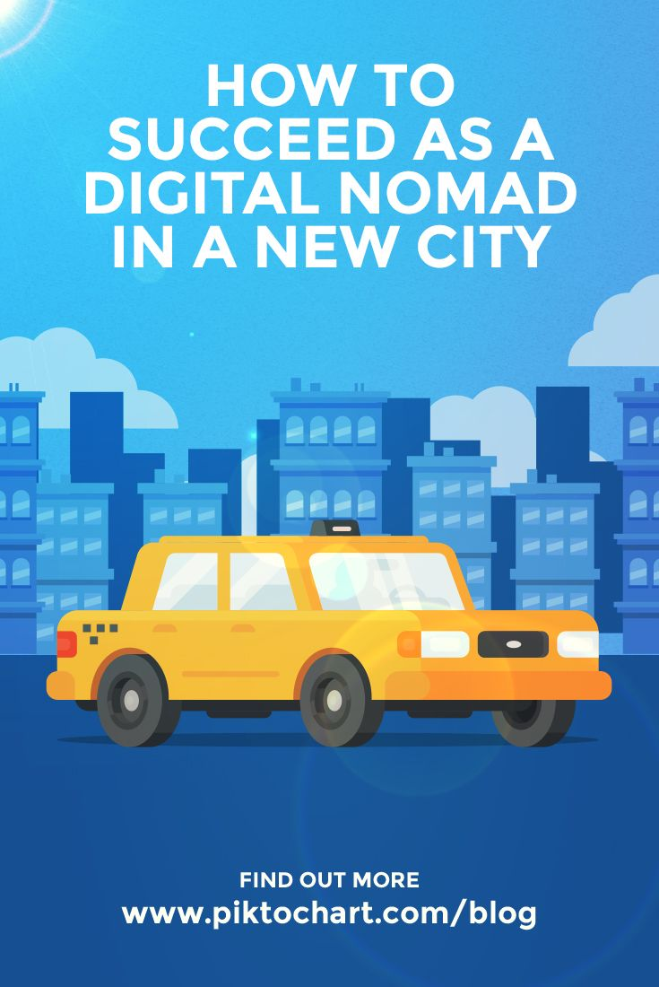 How To Succeed As A Digital Nomad In A New City Digital Nomad