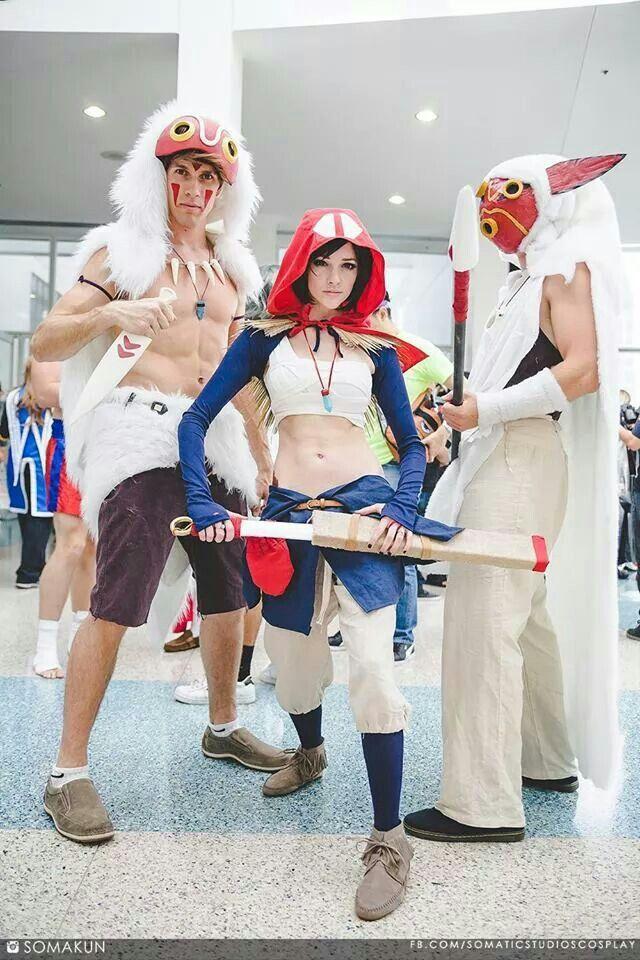 Mononoke And Ashitaka Princess Mononoke Cosplay Cosplay