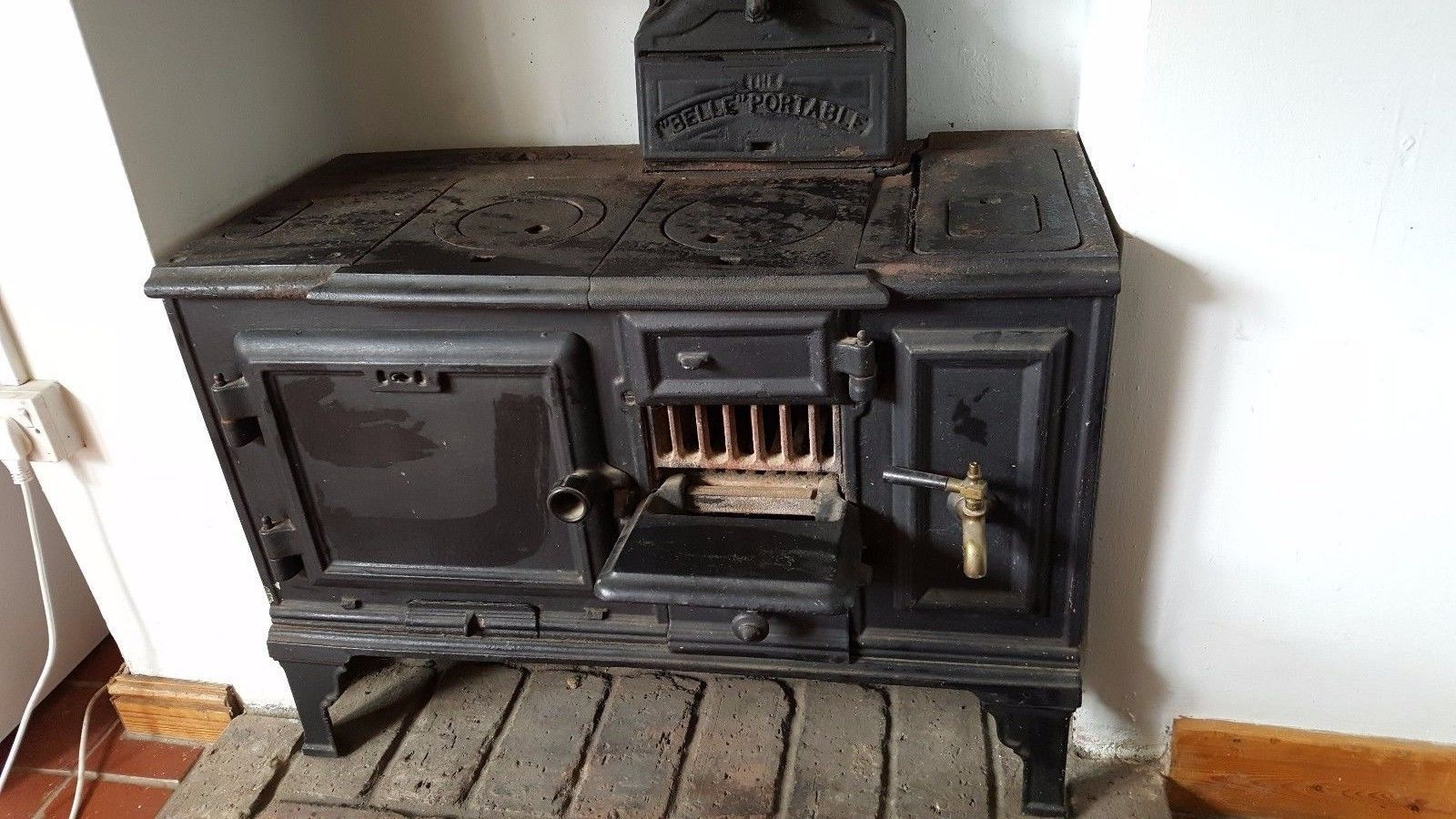 Küchenhexe Gebraucht ~ Belle portable cast iron antique stove fireplace oven stove