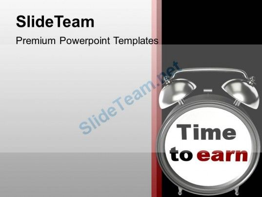 Time To Earn Business Achievement Powerpoint Templates Ppt Themes - achievement templates