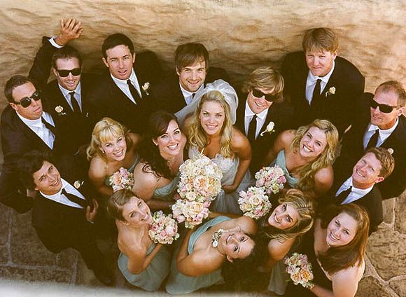 Group Photography Ideas: 20 Creative Wedding Poses for Bridal Party---I like this one the best.