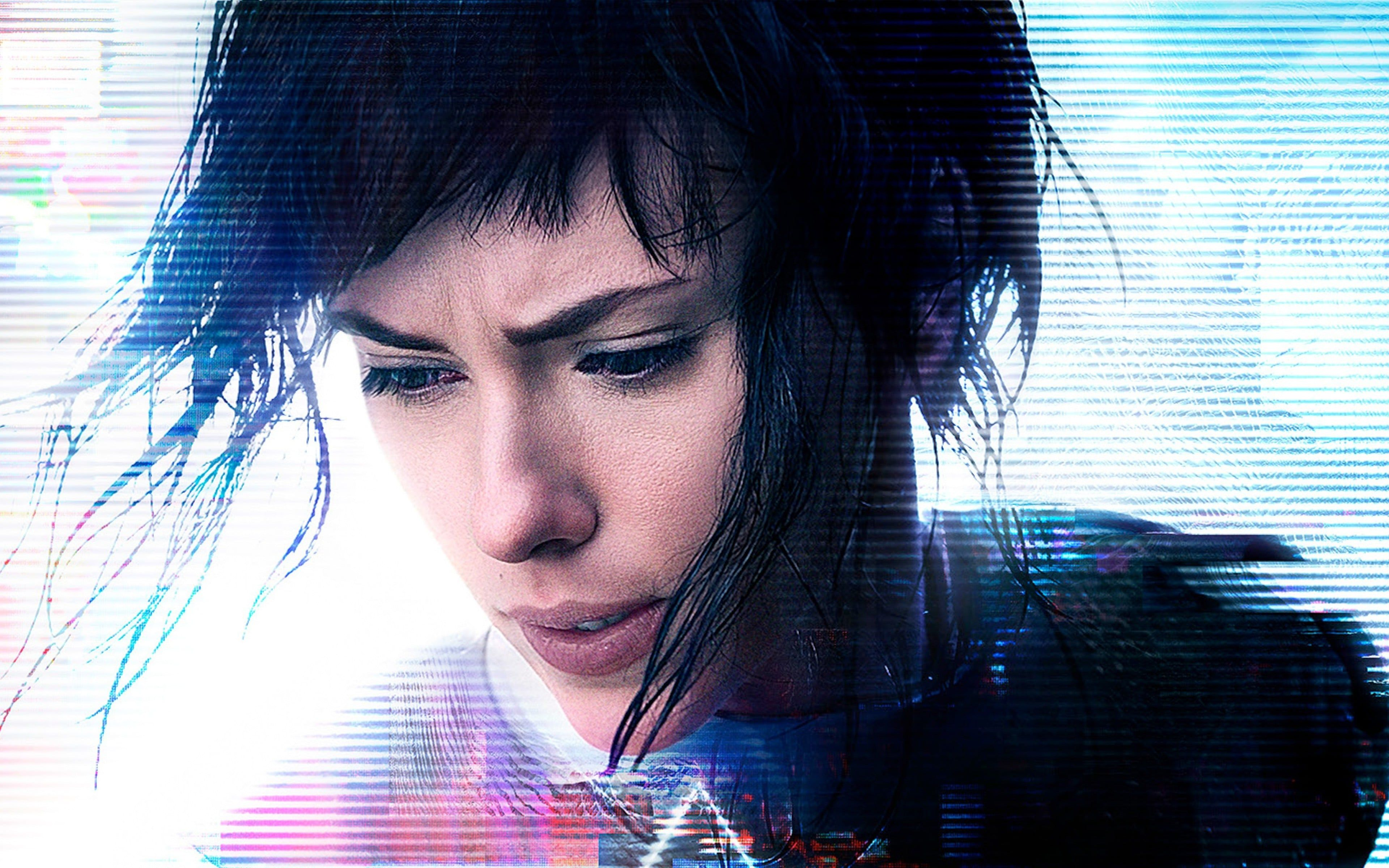 Ghost Shell Movie Poster Scarlett Johansson Ghost In The Shell
