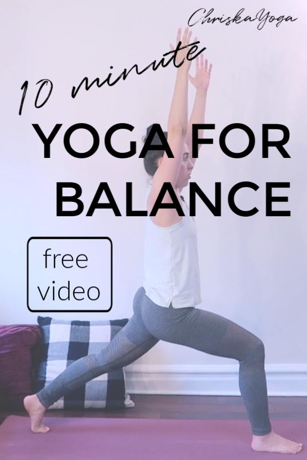 10 Minute Yoga To Improve Your Balance Cwiczenia