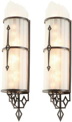 Art Deco Theater Sconces With Images Art Deco Lamps Art Deco