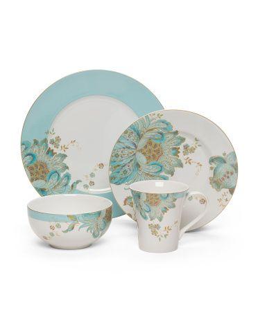 16pc Eliza Spring Dinnerware Set  sc 1 st  Pinterest & 16pc Eliza Spring Dinnerware Set | kitchen | Pinterest | Dinnerware ...