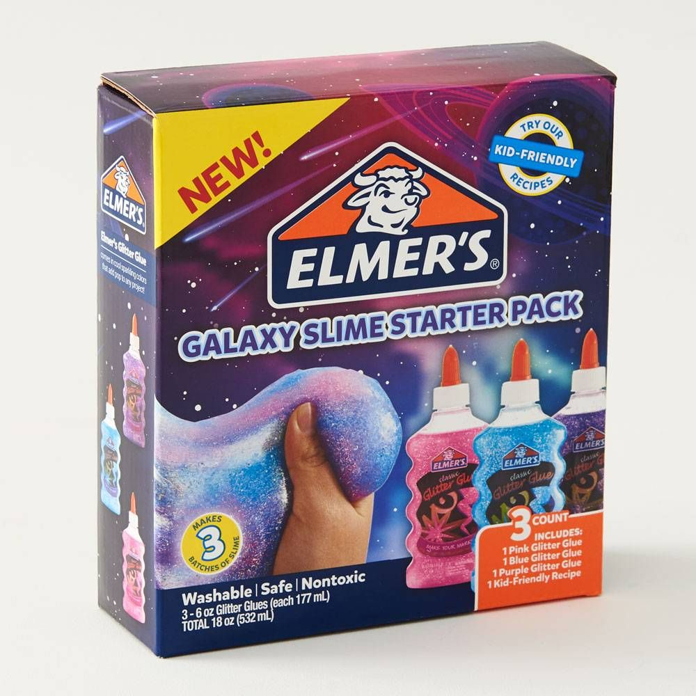 Galaxy Slime Starter Pack Galaxy Slime Cool Gifts For Kids Slime