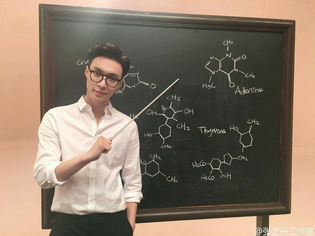 Yeees Wish you were my Biology and Chemistry teacher ❤❤❤   Lay ...