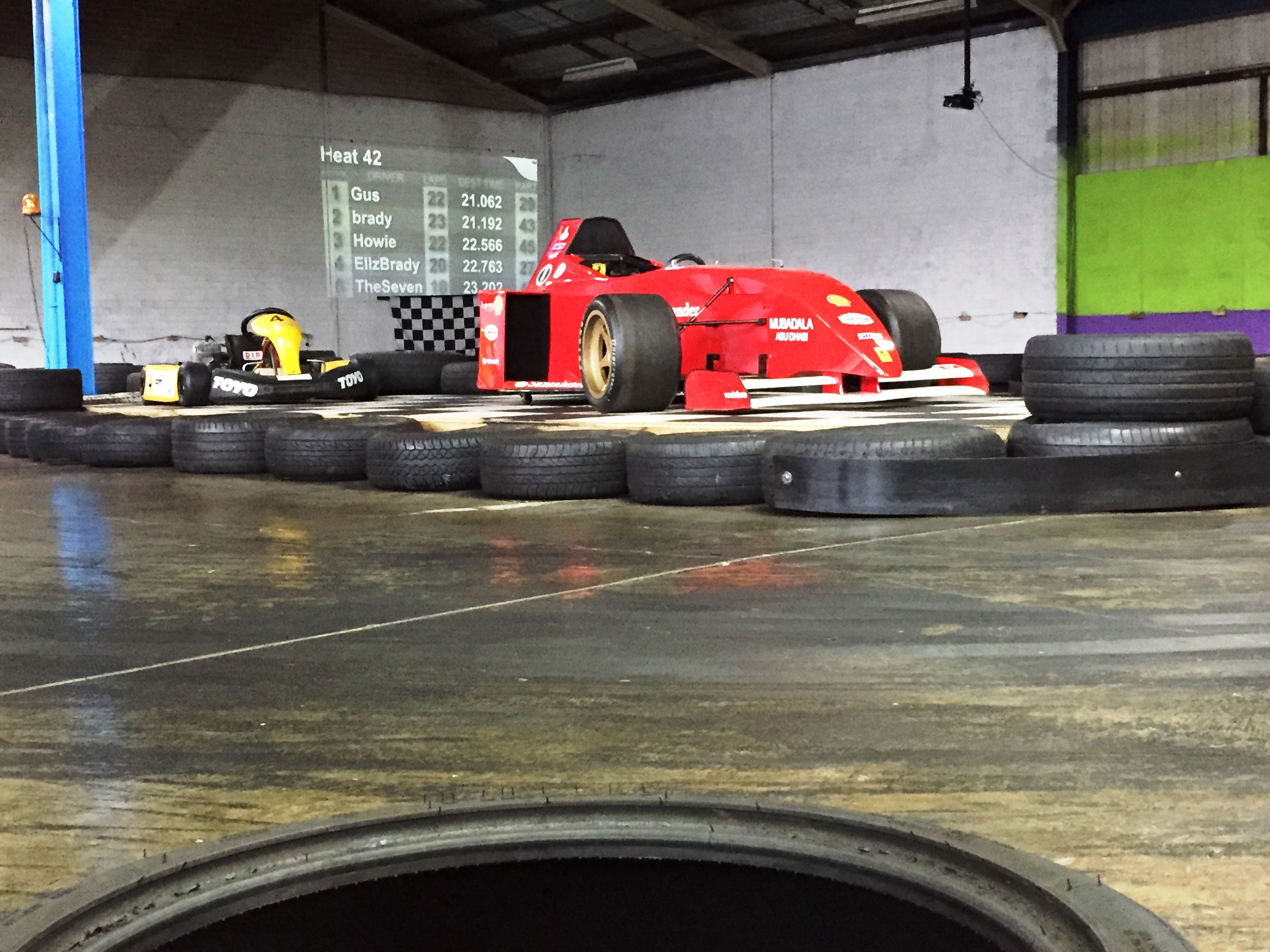 Spitfire Indoor Paintball Go Karts Sydneys Only Kart And Centre