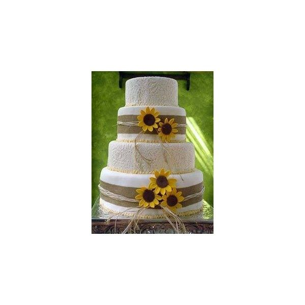 Country Western Wedding Cakes Gallery2 found on Polyvore