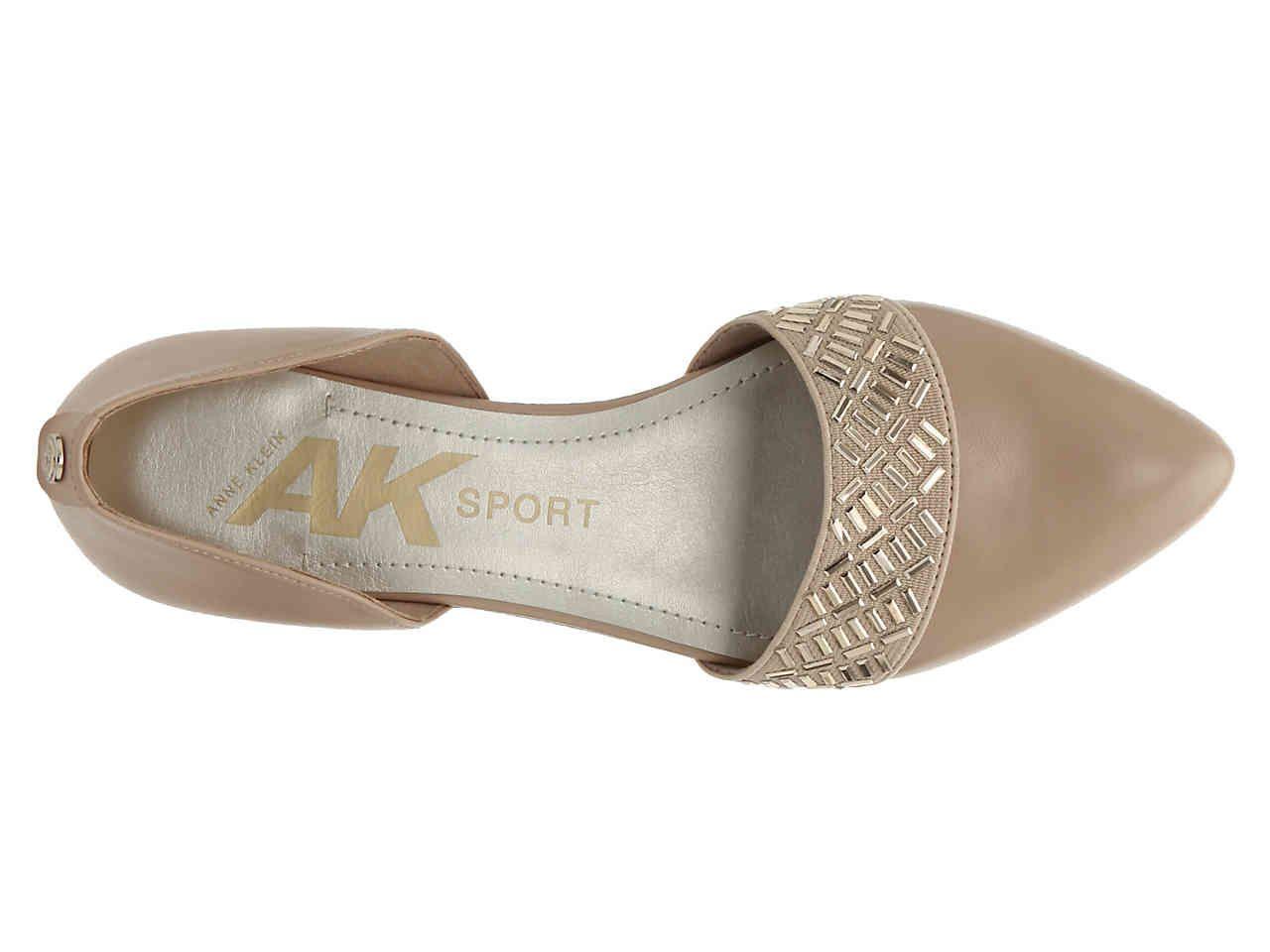 Anne Klein Sport Insure Ballet Flat Womens Shoes | DSW