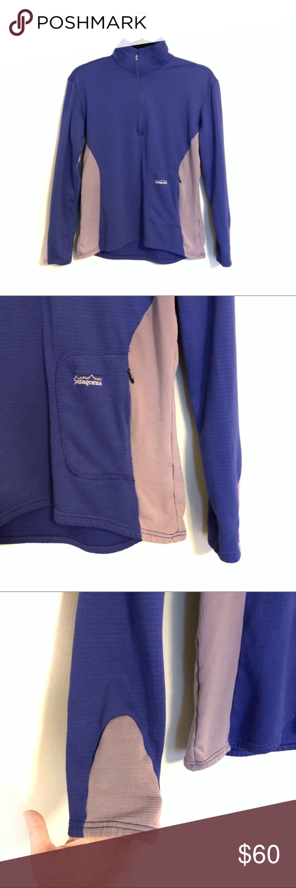 Patagonia Quilted Fleece Quarter Zip Pullover Patagonia