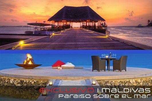 Maldivas, Paraiso sobre el nivel del mar
