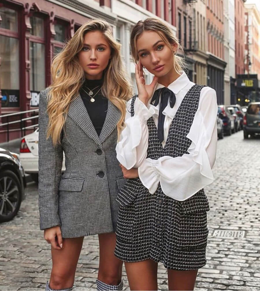 The Prettiest Tweed Dresses That Always Look Class